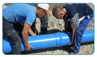 PVC-O and PE joint procedures – R2M